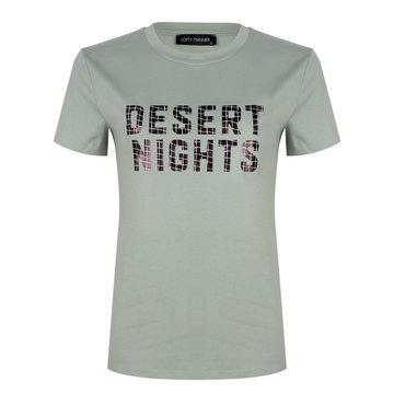 Lofty Manner Lofty Manner T-Shirt Desert Nights Mintgroen