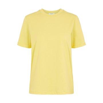 Pieces Pieces T-Shirt Geel