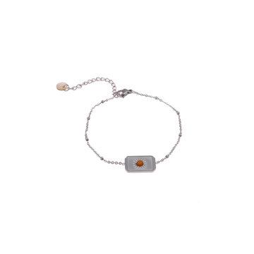 Go Dutch Label GDL Zilverkleurige Armband Met Bedel