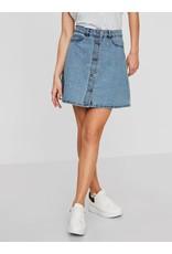 Noisy May Noisy May NM Sunny Denim Skater Skirt Light Blue