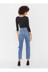 Noisy May Noisy May NM Isabel HW Ankle Jeans Medium Blue Denim