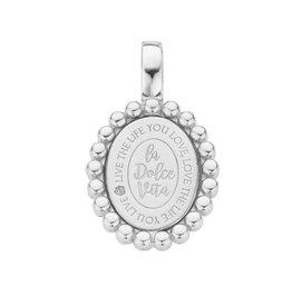 Mi Moneda Mi Moneda Vintage Soho Pendant Zilver