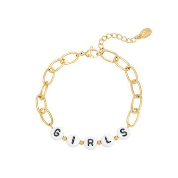 Karma Goodies Goudkleurige Armband Beads Girls