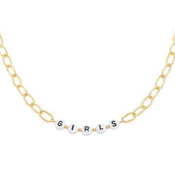 Goodies Goodies Goudkleurige Ketting Beads Girls