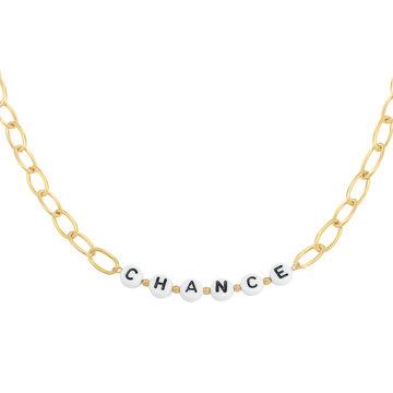 Goodies Goodies Ketting Beads Chance Goudkleurig