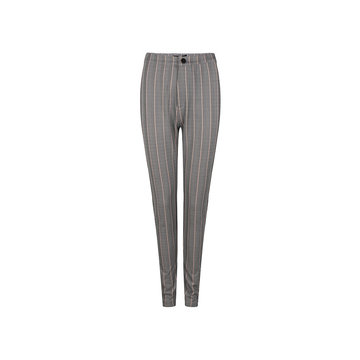Lofty Manner Lofty Manner Pantalon Strepen Zwart/Peach