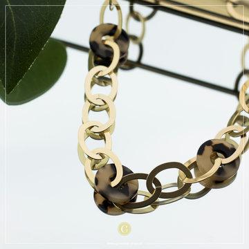 Zag Bijoux Zag Bijoux Necklace Chain Goudkleurig
