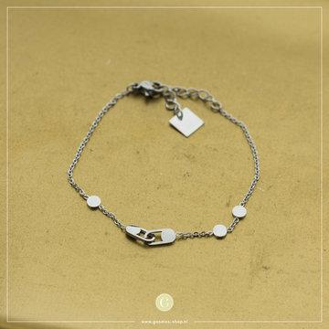 Zag Bijoux Zag Bijoux Bracelet Connection Zilverkleurig