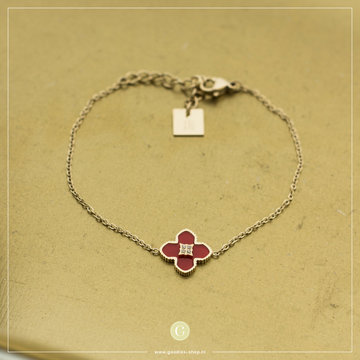 Zag Bijoux Zag Bijoux Bracelet Coral Flower Goudkleuirg