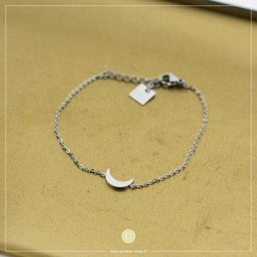 Zag Bijoux Zag Bijoux Bracelet Moon Zilverkleurig