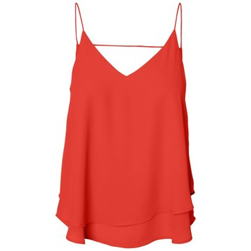 Pieces Pieces Slip Top Rood