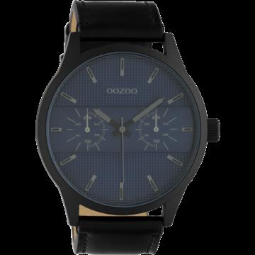 Oozoo Timepieces Oozoo Horloge C10539 black/dark blue