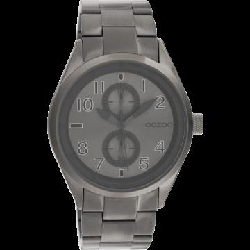 Oozoo Timepieces Oozoo Horloge C10633 titanium