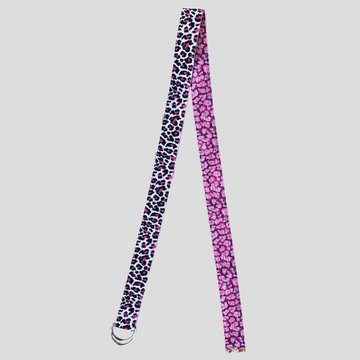 Pinned by K Pinned by K Leopard Belt White