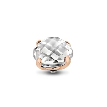 Melano Melano Twisted Stone Facet Bold 10mm Crystal Rosé