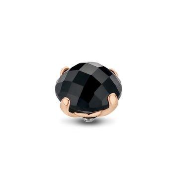 Melano Melano Twisted Stone Facet Bold Black Rosé