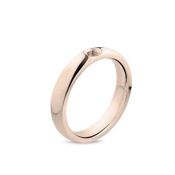 Melano Melano Twisted Tracy Ring Rosé