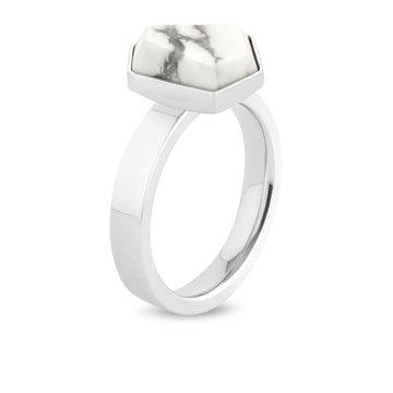 Melano Melano Twisted Tatum Ring Zilverkleurig