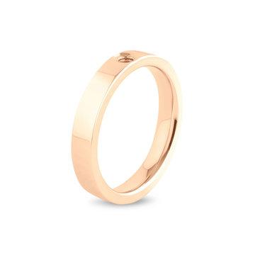 Melano Melano Twisted Tatum Ring Rosé