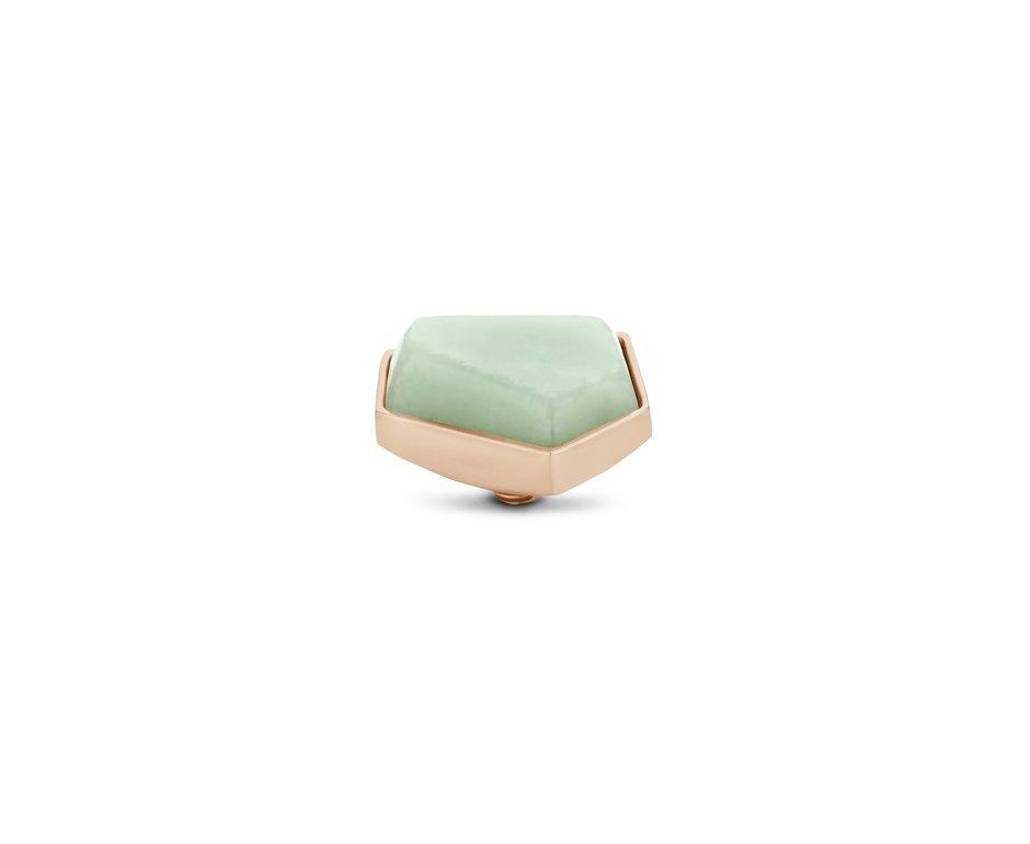 Melano Melano Twisted Stone Geo 12mm Amazon Rosé