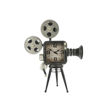 Countryfield Countryfield Tafelklok Filmcamera Buster Grijs