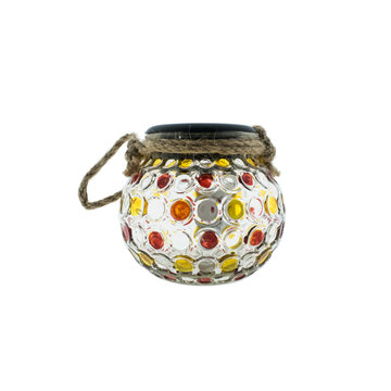 Countryfield Countyfield Solar Lamp Dots M Red