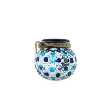Countryfield Countyfield Solar Lamp Dots M Blue