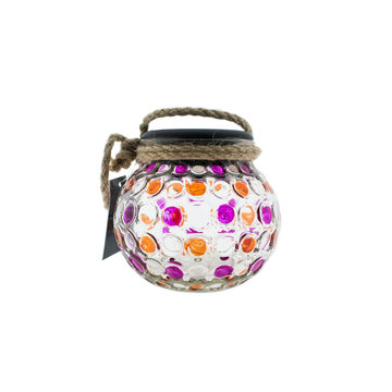 Countryfield Countyfield Solar Lamp Dots M Pink