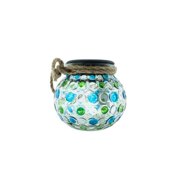Countryfield Countyfield Solar Lamp Dots M Green