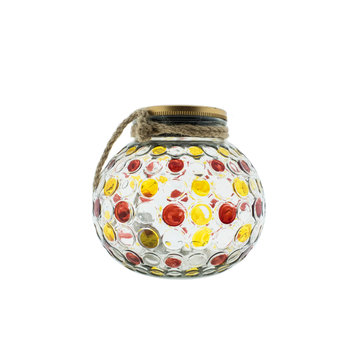 Countryfield Countyfield Solar Lamp Dots L Red