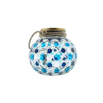 Countryfield Countyfield Solar Lamp Dots L Blue