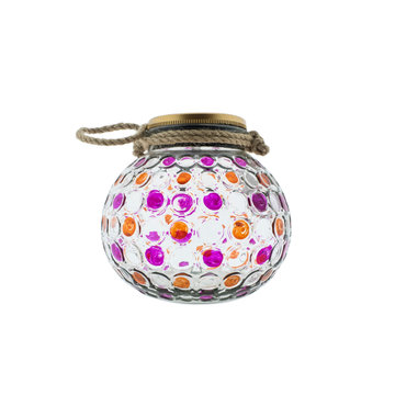 Countryfield Countyfield Solar Lamp Dots L Pink
