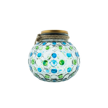 Countryfield Countyfield Solar Lamp Dots L Green