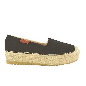Fabs Shoes Fabs Zwarte Platform Espadrilles