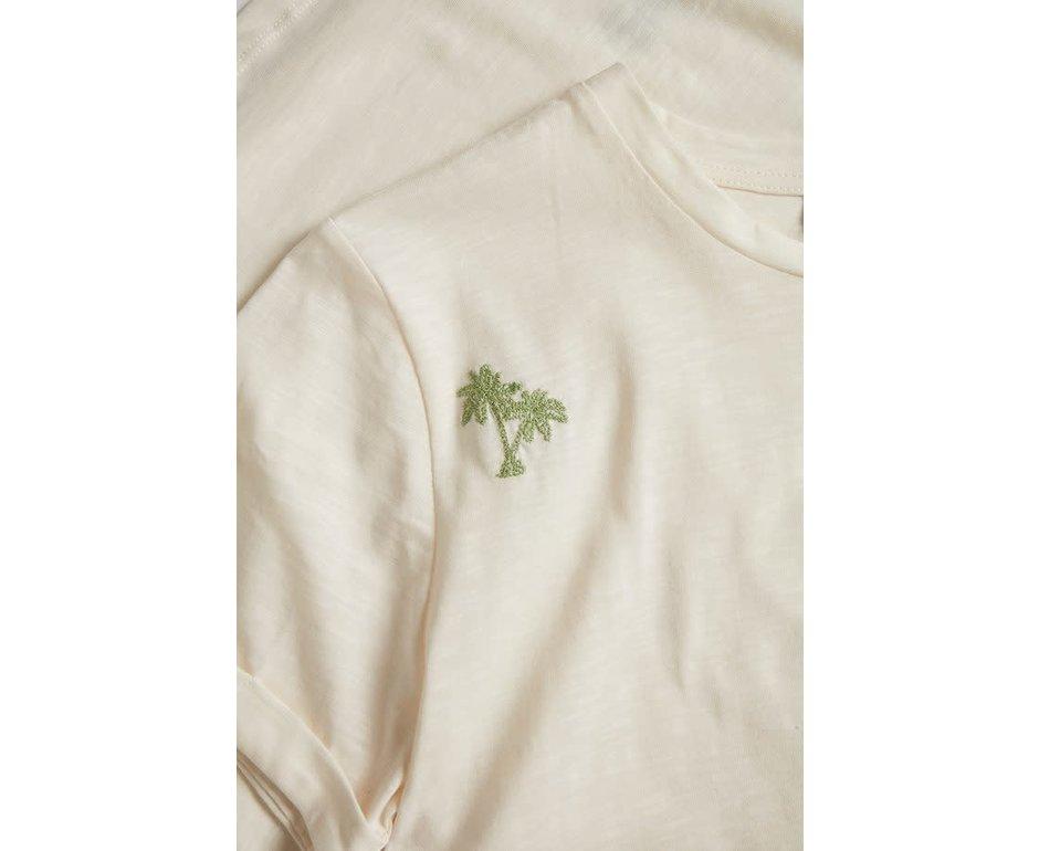 Saint Tropez T-shirt Palm Creme