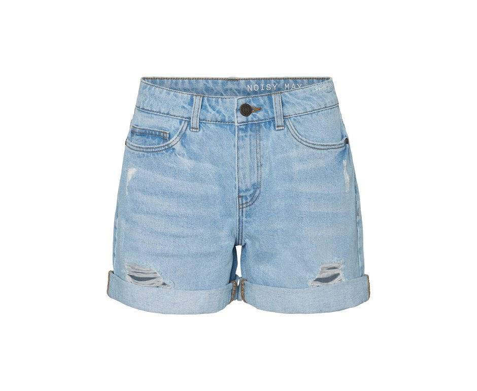 Noisy May Noisy May NM Smiley Shorts Light Denim