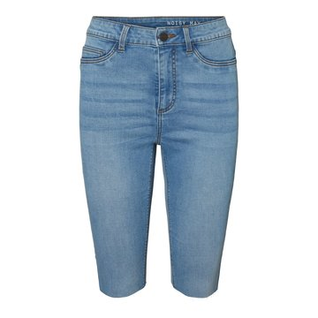Noisy May Noisy May Lange Denim Short Blauw