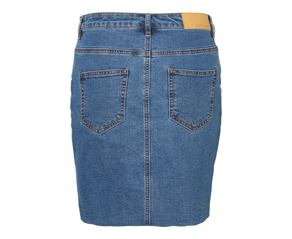 Noisy May Noisy May NM Callie Short Skirt Medium Blue Denim