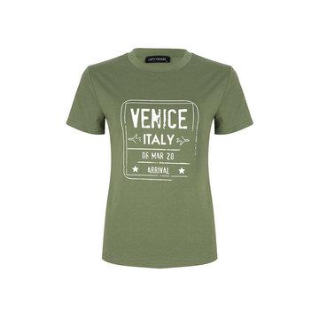Lofty Manner Lofty Manner Groen T-shirt Venice Italy