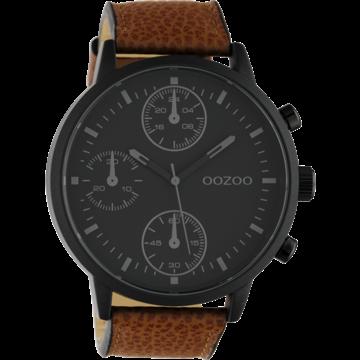 Oozoo Timepieces Oozoo Horloge Bruin/Zwart