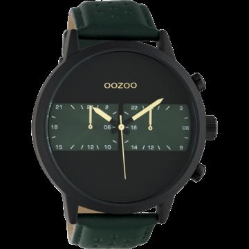 Oozoo Timepieces Oozoo Horloge Groen/Zwart