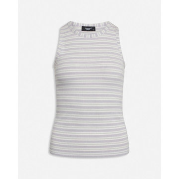 Sisters Point Sisters Point Tanktop Met Strepen Lila