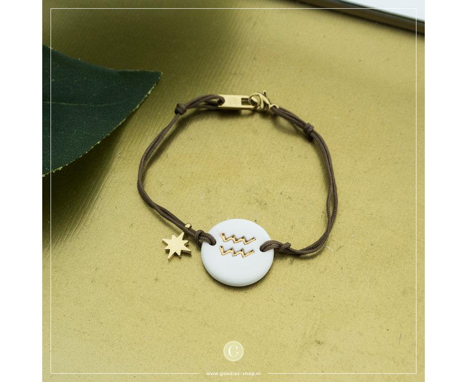 Zag Bijoux Zag Bijoux Bracelet Aquarius