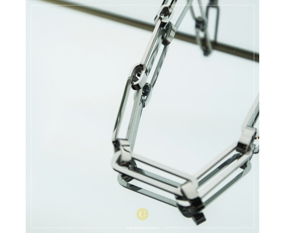 Zag Bijoux Zag Bijoux Necklace Big Chain Zilverkleurig