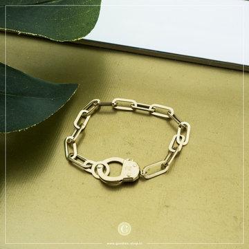 Zag Bijoux Zag Bijoux Goudkleurige Armband Big Chain