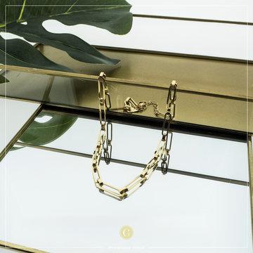 Zag Bijoux Zag Bijoux Goudkleurige Ketting Big Chain