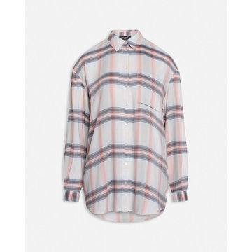 Sisters Point Sisters Point Oversized Blouse Met Ruiten