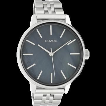 Oozoo Timepieces Oozoo C10623 Silver/Grey Pearl