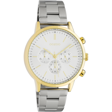 Oozoo Timepieces Oozoo Horloge Zilver/Goud