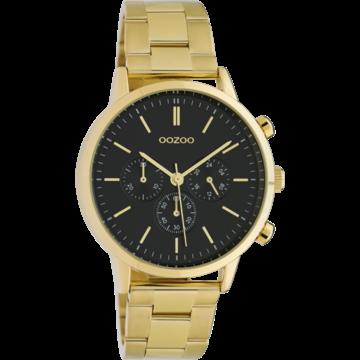 Oozoo Timepieces Oozoo Horloge Goudkleurig/Zwart